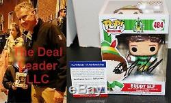 Will Ferrell Autographed Buddy Elf 484 Signed Funko Pop PSA JSA COA