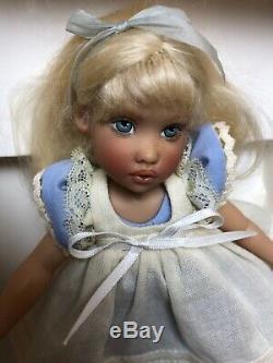 7.5 Helen Kish Vinyle Poupée Signée Alice Au Pays Des Merveilles Ufdc Ltd. 210 Tulah