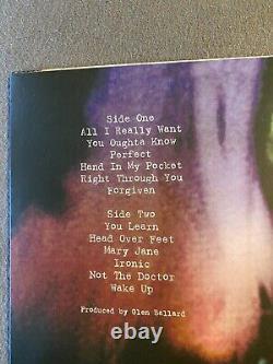 Alanis Morissette Jagged Little Pill Album Signé Clear Vinyl Rare