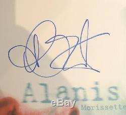 Alanis Morissette Signé Petite Pilule En Dents De Scie Vinyle Autographié Psa Cert