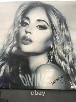 Alina Baraz It Was Divine Exclusive Limited Edition Signé Blue 2x Vinyl Lp