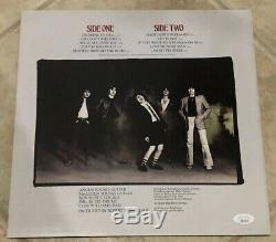 Angus Young Signé Autographié Highway Ac / DC To Hell Vinyle Album Cover Jsa Loa