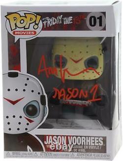 Ari Lehman Vendredi 13 Autographié Jason # 1 Funko Pop! Film Figurines