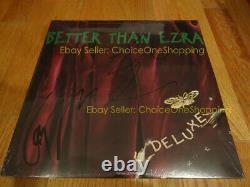 Autographe Signé Nouveau Mieux Scellé Que Ezra Deluxe Vinyl Lp Kevin Griffin
