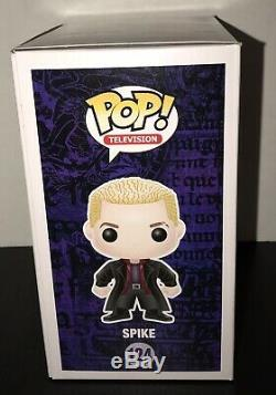 Autographed De Spike # 124 Funko Pop Buffy Vampire Slayer Signe James Marsters