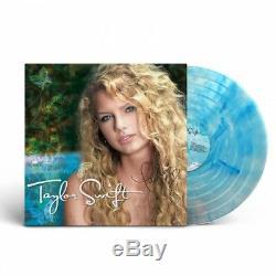 Autographed Taylor Swift (limited Couleur Vinyle Lp) Main Signée Complet / 250