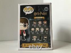 Autographié Funko Pop Harry Potter Triwizard Daniel Radcliffe