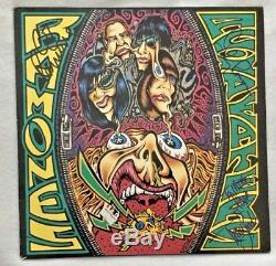 Autographié / Signé Ramones Eaters Acid Vinyl Importation Johnny, Cj Lords & Traci