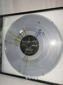 Avril Lavigne Signé Autographed Framed Urban Outfitters Exlusive Vinyl Psa Coa