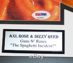 Axl Rose Dizzy Signé Guns N Roses The Spaghetti Incident Vinyle Psa Autograph