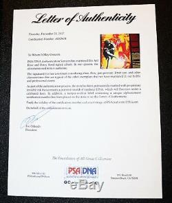 Axl Rose Dizzy Signé Guns N Roses Use Your Illusion Vinyle Psa Jsa Autograph