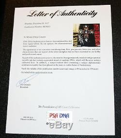 Axl Rose Signé Guns N Roses Appetite For Destruction Vinyle Album Psa Autograph