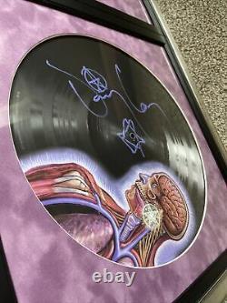 Bande D'outil Signée Latelus Lp Cadre Vinyle Custom
