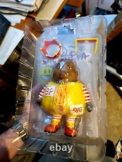 Big Poppa MC Limited Edition Toy Ron English X Clutter Signé Ap