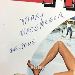Bill Murray Signed Meatballs Soundtrack Lp Vinyl Psa/dna Album Autographié