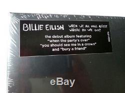 Billie Eilish When We All Fall Asleep Phosphorescent Vinyle, Bande Et Signée