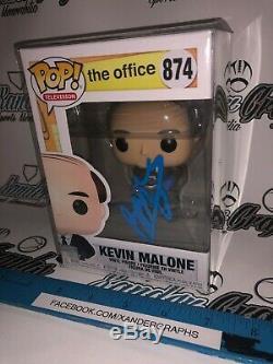 Brian Baumgartner Kevin Malone Le Bureau Signé Autographié Funko Pop-preuve Coa