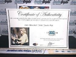 Cate Blanchett Hela Signé Avengers Autographed Thor Marvel Funko Pop-proof Coa
