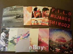 Collection De Vinyle Nujabes (y Compris Luv-sic. Dossier Complet Et Signé)