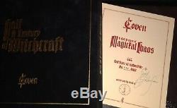 Coven'jinx ' Nouveau Coffret, Vinyle, Signé À La Main, ' Demi-siècle De Sorcellerie