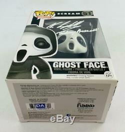 Cri Ghostface Funko Pop Autographié Par Neve Campbell