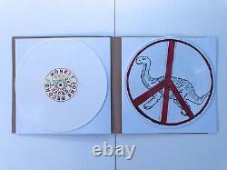 Damon Albarn Democrazy 2x Lp Vinyle Disque D'image Signé Par Damon Blur Gorillaz