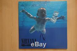 Dave Grohl Autogramm Signé Lp-cover Nirvana Vinyle De Nevermind