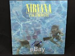 Dave Grohl Signé Autographié Album Vinyle Foo Fighters Nirvana Coa Wow