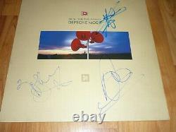 Depeche Mode Original Authentique Signé Vinyl Lp Music For The Masses Mute Records