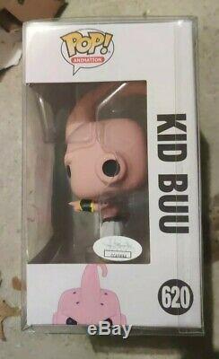 Dragon Ball Z Kid Buu # 620 Funko Pop Jsa Autographié Signé Par Josh Martin