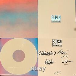 Duran Duran Paper Gods Deluxe White Colored Vinyl Autographed Box Set