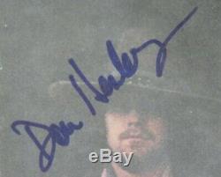 Eagles Signed Autograph Desperado Album Vinyle Lp De 4 Don Henley, Glenn Frey +
