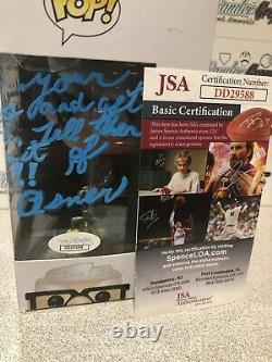Ed Asner Carl Fredricksen Disney Up Signé Autographié Funko Pop Vinyl Jsa Coa