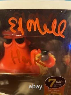 Ed Oneill A Signé Hank Funko Pop, Trouvant Dory Jsa Coa