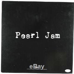 Eddie Vedder Pearl Jam Jsa Signé Album Vinyle Autograph Vitalogie Album Flat