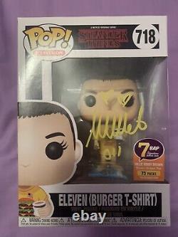 Eleven Funko Pop Signé Et Certifié