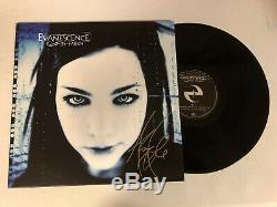 Evanescence Amy Lee Autographié Album Vinyle Tombé Signé Jsa Coa # Gg18156