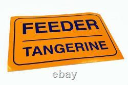 Feeder Two Colours Ltd. 7 Lp Signed Rare Framed No. 418/1000 + Autocollants Promotionnels