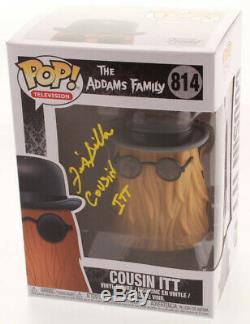 Felix Silla Cousin IL Itt Signé Autograph Funko Pop 814 Adams Family Jsa Pa Coa