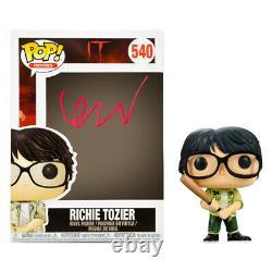Finn Wolfhard Autographié It Richie Tozier Pop Vinyle Figure #540