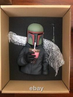 Flabslab Luke Chueh Boba Fett Version 1.3 Signé/doodles Vinyl Figure Star Wars