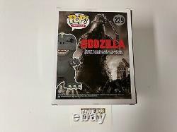 Funko Pop 2016 Nycc Exclusive Godzilla Signé Jouet Tokyo Gid Glow Dans Le Noir 239