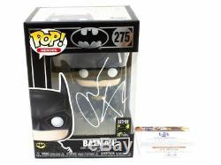 Funko Pop 275 Batman Signé Par Christian Bale Coa