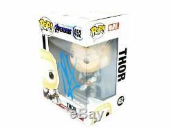 Funko Pop 452 Thor Signé Par Chris Hemsworth Coa