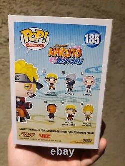 Funko Pop! Animation # 185 Naruto Shippuden Sage Mode Signé Avec Coa Par Jsa