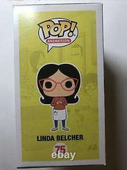 Funko Pop! Animation Bobs Burgers Linda Belcher Signé Et Esquissé Par Frank F