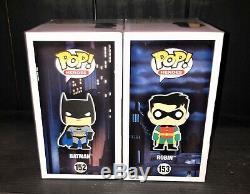 Funko Pop! Batman Et Robin Signé (certification) Kevin Conroy & Loren Lester