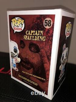 Funko Pop! Capitaine Spaulding Signé