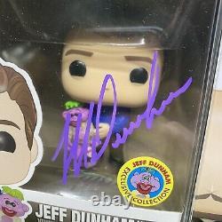 Funko Pop! Comédiens Set Signed Fluffy, Jeff Dunham - Jo Koy Autographes