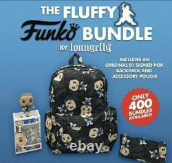 Funko Pop! Gabriel Iglesias Fluffy Guy A Signé Pop Bundle Par Loungefly Le 400